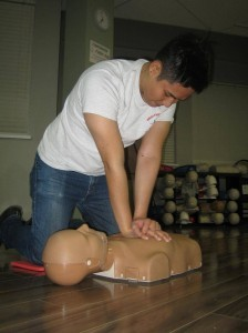 Standard workplace emergency first aid in Vancouver