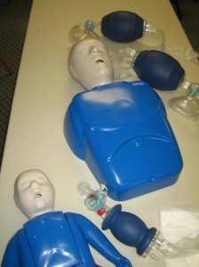 Childcare first aid and CPR training