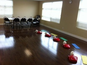 Electric Shocks First Aid Class