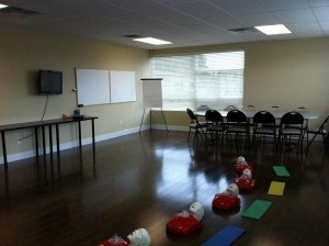 First Aid and CPR Class