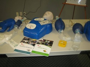 Red Cross first aid and CPR courses in Coquitlam