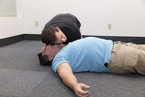 Airway check for breathing - CPR courses