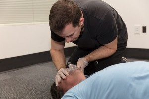 Effective ventilations for CPR training